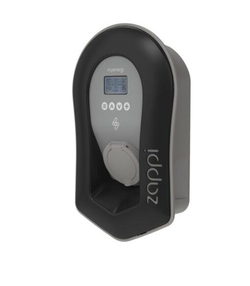 myenergi-zappi-Wallbox-22kW-schwarz-buchse-2