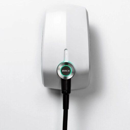 EVBox-Elvi-Wallbox-Ladekabel-weiß