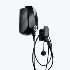 EVBox-Elvi-Wallbox-Schwarz-Kabelhalter