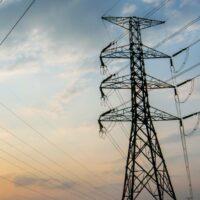 Strommast-Power-Netzbetreiber